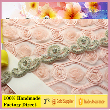 Fashion Elegant Crystal new design for rhinestone applique with glue backing
