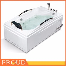 China Cheap Price One Person Hot Tub Massage Bath Tub Indoor free standing steam shower tub