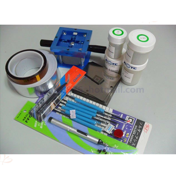 12 in 1 bga kit BGA Accessories BGA Reballing Station+BGA Stencils+Leaded Solder Ball+AL Tape+Vaccum Pan+Tweezer