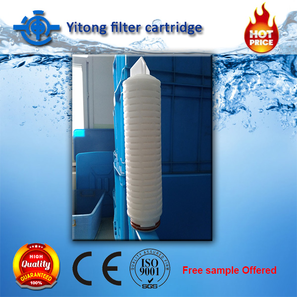Wholesale 10' <strong>20</strong>' 30'40' PP pleated filter cartridge price in micron filter