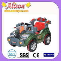 Rechargeable cars Alison C31016 speed control kids electric kids car parts battery baby car with remote control