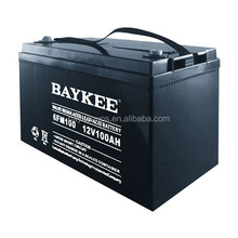 Baykee dry battery for ups 12v/ups battery 100ah 12v China manufacture & supplier
