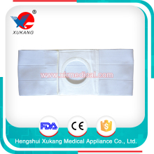 high quality medical care ostomy abdominal belts for woman, xukang medical protection for colostomy patients