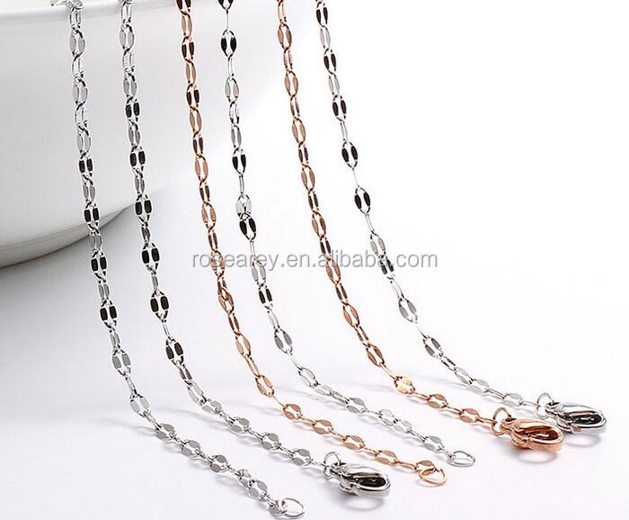 Hot Selling Products Stainless Steel Ladies Lip Gold Chains