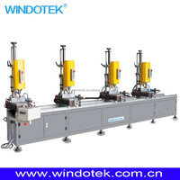 Aluminum Window Frame Making Four Head Drilling Machine LZZ4-13