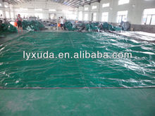 Coated waterproof PE Tarpaulin blue sheet plastic cover