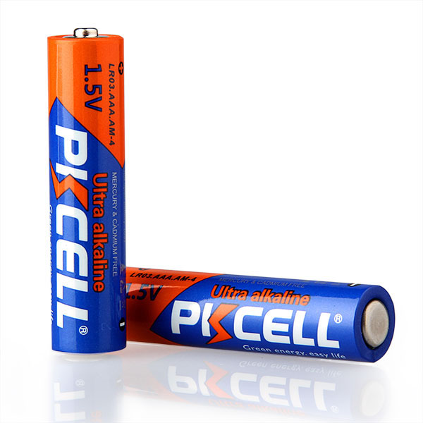 PKCELL E92 AM4 MN2400 3A AAA 1.5V LR03 Alkaline Dry Battery