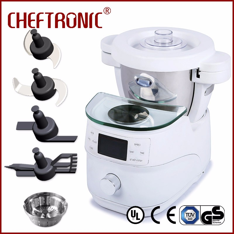 2017 new kitchen appliance 2000W commercial food processor &10 in 1 food processor