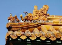 ceramic Chinese classical style building roofing shingle