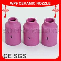 Tig Welding Torch Consumables Ceramic Nozzle For WP9 WP20