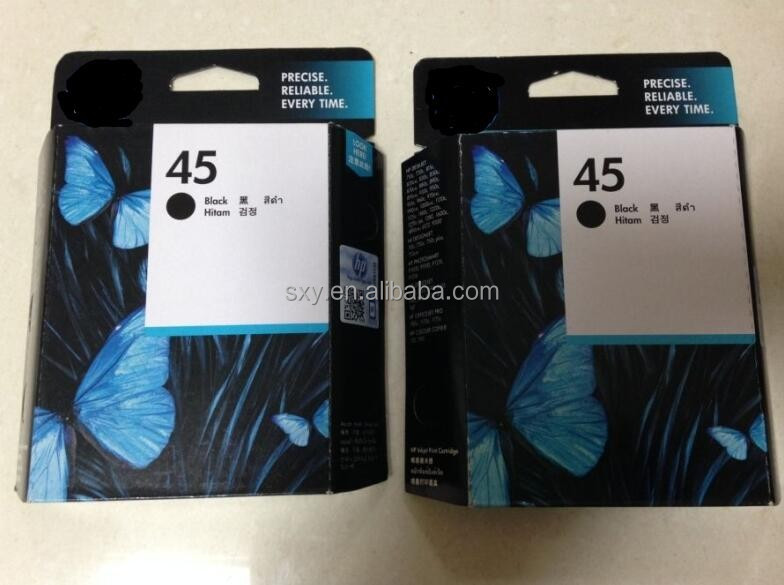 New premium Gold Supplier printer ink and cartridge 51645A for HP compatible refill printer ink cartridge 45 61 130 932 933 950