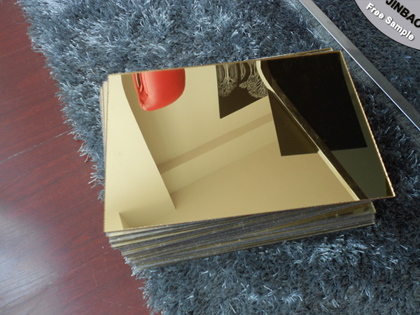 Decoration material own factory acrylic mirror sheet cut for Mirror cut to size