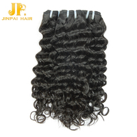 JP Hair Hot Product Sexy Natural Black Virgin Remy Temple Curl Indian Hair
