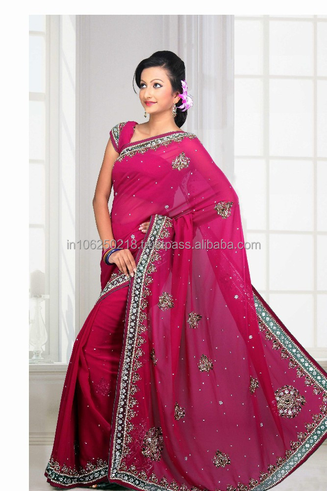 Wedding dress / indian bridal wedding sarees / wholesalers in surat R3850