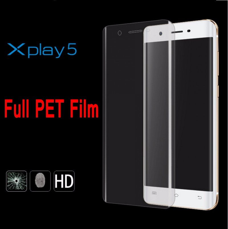 Full Curved PET Invisible HD Film Screen Protector for Vivo X play 5