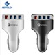 Fast car charger 12-32V 4 USB 5V 7A / 9V 1.8A /12V 1.5A mobile phone car chargers adapter