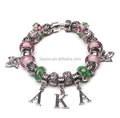 Alpha Kapp Alpha hot sellers alloy AKA bracelets beads sorority bracelets for girls and women Sorority PDI Charm Bracelet