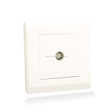 UK standard tv tel electrical wall switch socket for bangladesh style