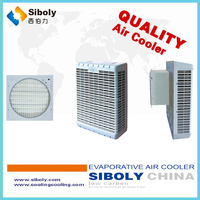 shop/supermaket/building evaporative fan ducting mini water cooler 220v 50hz