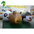 Various Funny Decoration PVC Inflatable Animal Cartoon Model Balloon Head