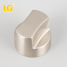 ISO9001 Wholesale high quality gas stove knob with brush nickel finished