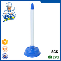 Mr.SIGA 2015 New style colored custom rubber toilet plunger