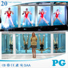 PG High Standard Clear Cast High Gloss Acrylic Wall Panels