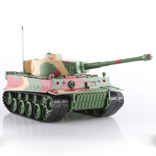 rb-034828 heng long tank 1:26 German Tiger I Remote Control Battle Tank with Light and Sound