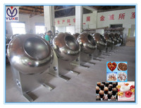 New design multifunctional chocolate/tablet coating machine