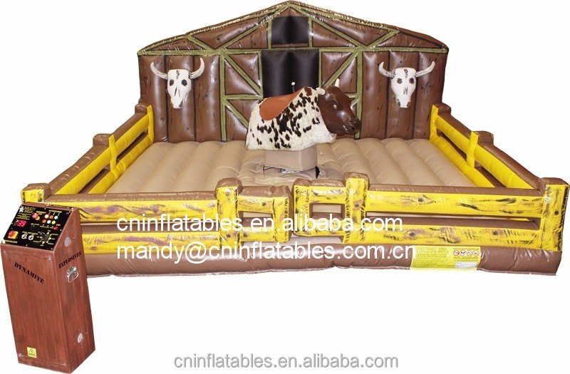 Hot Sale Inflatable Rodeo bull, Mechanical Bull Riding, Inflatable Mechanical Bull