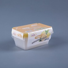 Modern Durable Cheap vented plastic food container with shrink package