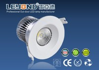 Anti-glare lens 2700K/3000K led down light living room bedroom kitchen recessed LED downlight