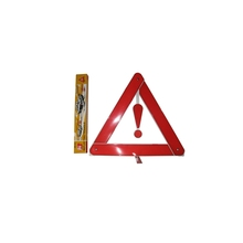PMAA reflective safety led warning triangle