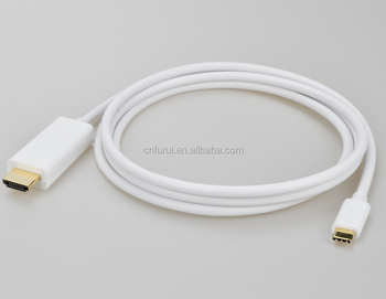 USB 3.1 Type-C to HDMI 4K 3D extenstion data sync cable