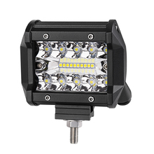 18W Work Light Flood and spot Black 4inch led work light driving lights