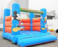 Factory directly sale mickey mouse jumping castle for kids Z1075