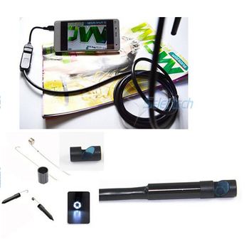 SE-E9 HD 1200P 9mm OTG with 6 LED Waterproof Android usb Endoscope inspection camera