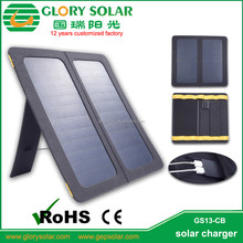 Portable Dual Usb Solar Battery Charger Iphone Solar Charger