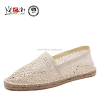 2015 China high quality hemp shoes,espadrilles casual
