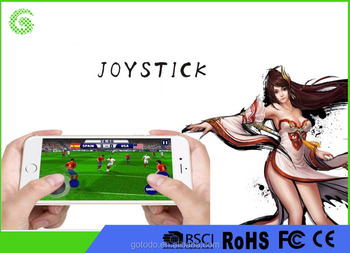 Mobile Phone Joystick Game Button Controller Mini Game Joystick for Smartphone and Tablets