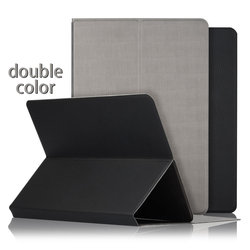 "C&T Universal Folio Faux Leather Protector Case Cover for 8"" inch Tablets"