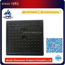Top precision jrc 12 carriageway double seal manhole cover iron drain cover