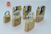 Colored Combination Lock For Gym Security Key locks