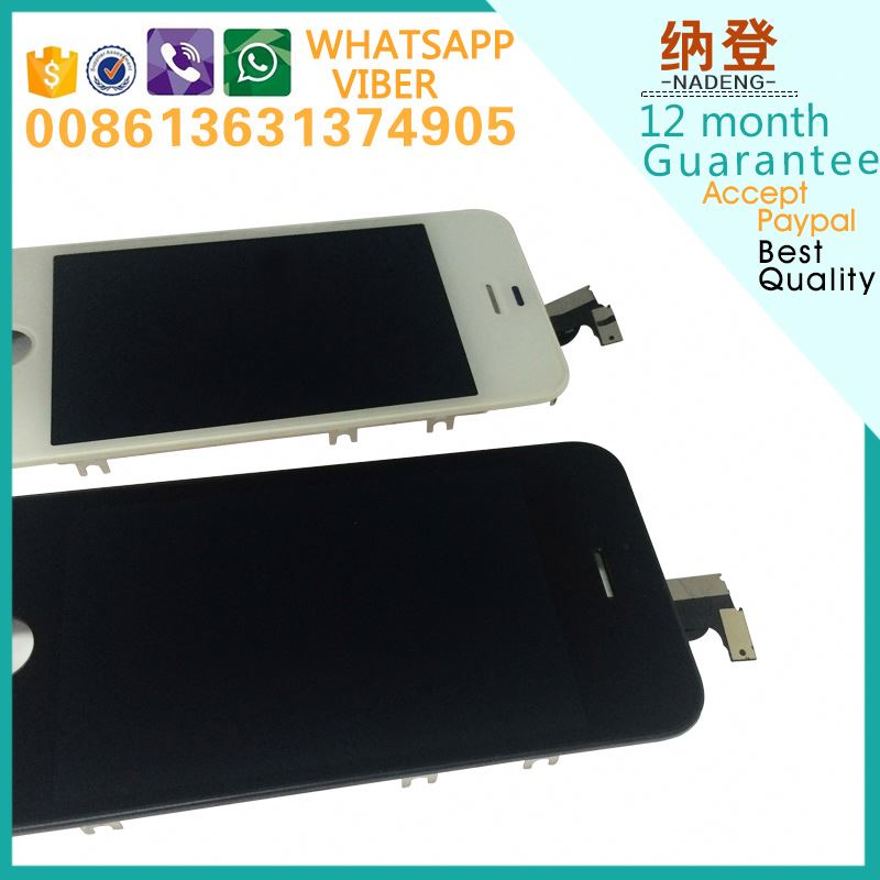 Touch screen digiziter and lcd for iphone 4s assembly with wholesale price