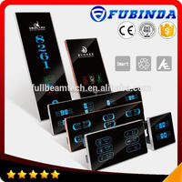 OEM&ODM fashion electronic vertical 3 gang switch