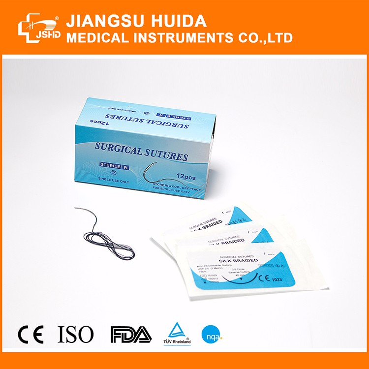 Cheap disposable medical Surgical Suture