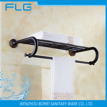 Luxury Household Hotel Bathroom Accessories Wall Mounted ORB Towel Rack BM5451 Towel Shelf Oil Rubbed Bronze