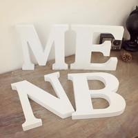 wholesale professonal custom art minds wood letters
