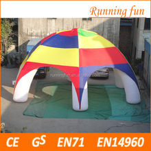 high quality low price transparent inflatable tent china, inflatable car wash tent