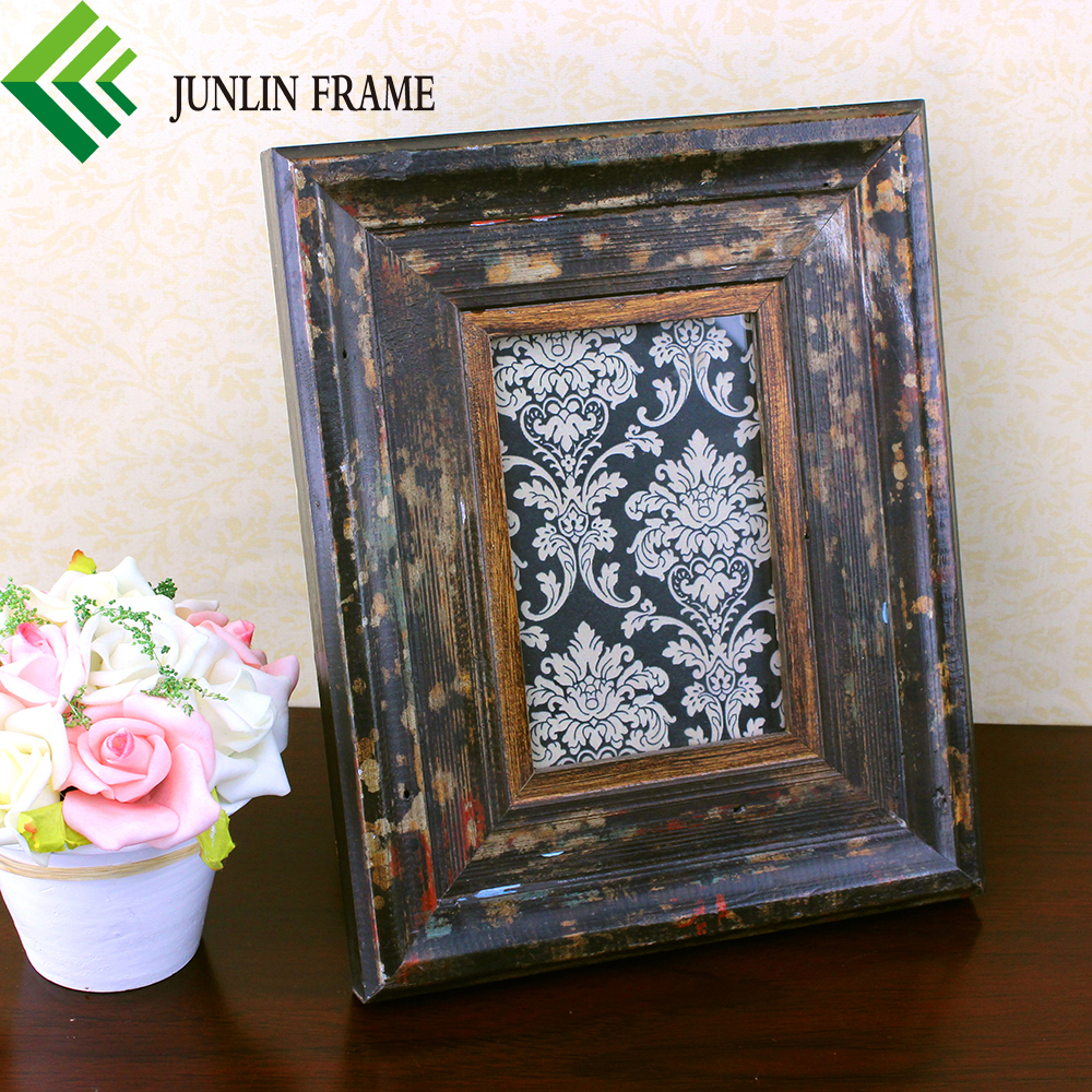 how to finish picture frames